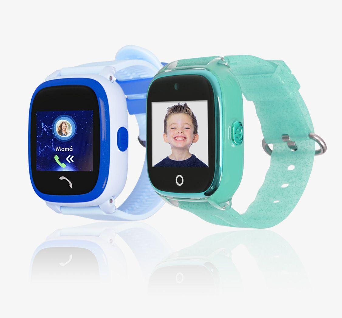 Reloj para niños con localizador GPS y llamada de emergencia