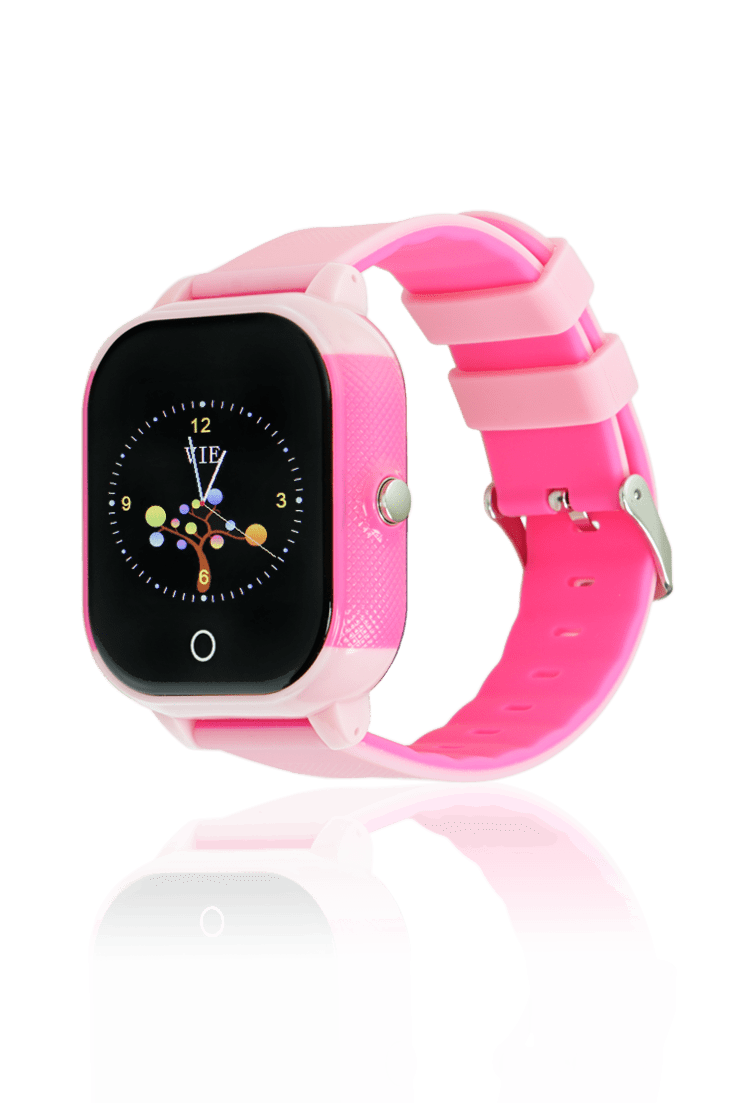 Reloj infantil smartwatch rosa con gps para niños
