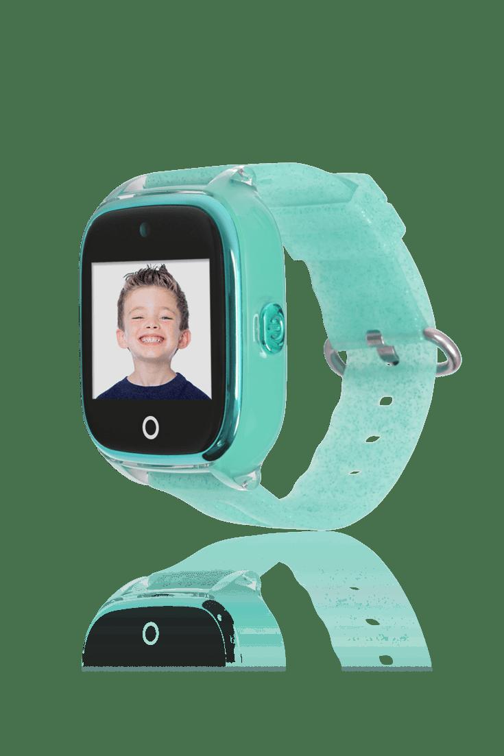 Reloj smartwatch verde con gps para niños