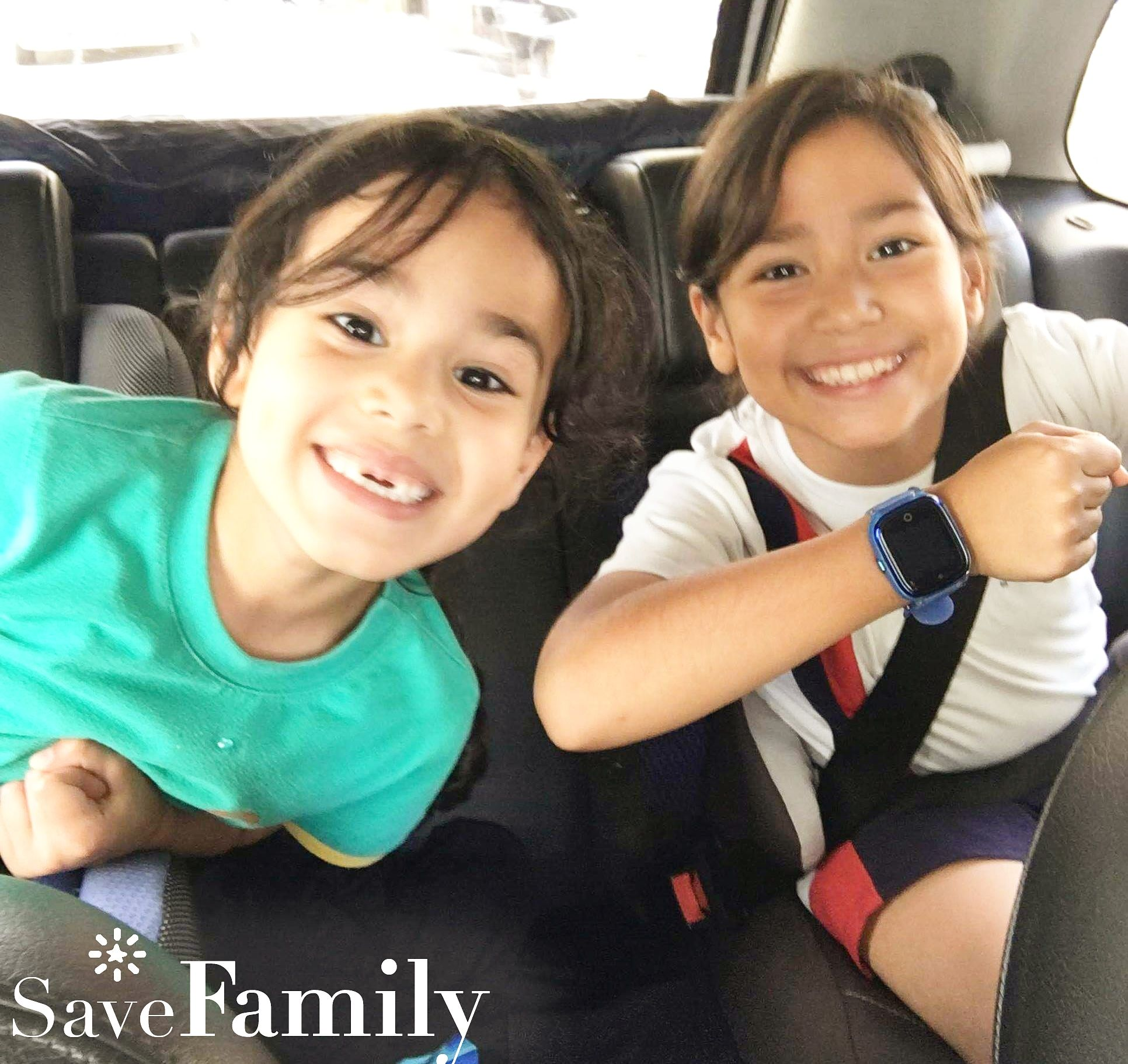 9 años Save Family Kids Superior Verde