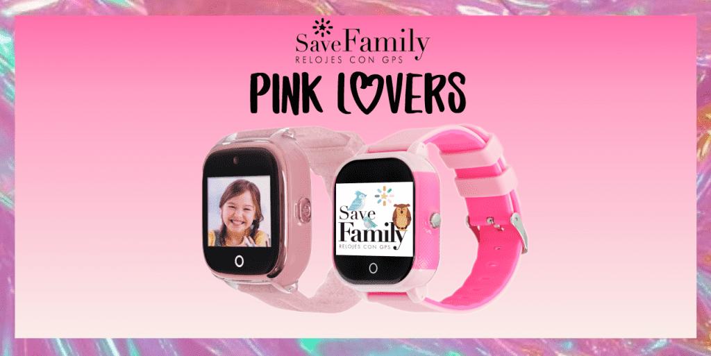 relojes con GPS save family para niñas rosa infantil