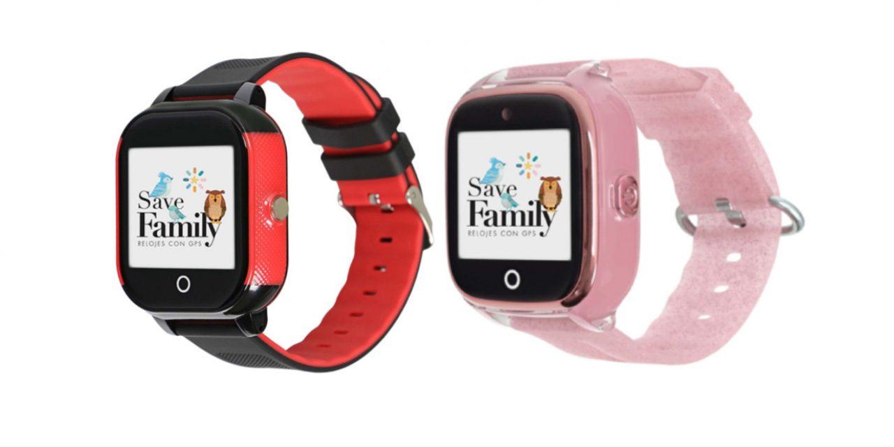 Smartwatch. Relojes con GPS y telefono para niños.