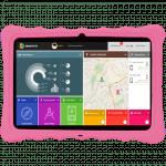 Tablet evolution para niños y adolescentes rosa